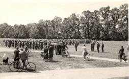 The Home Guard, on Ripley Green in the 1940s, was donated by Jack Mallender.