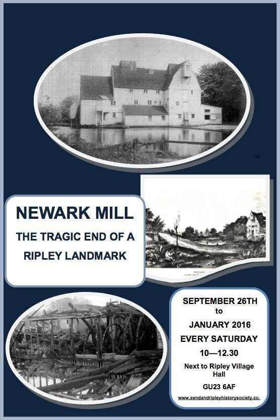 NEWARK MILL - The tragic end of a Ripley Landmark