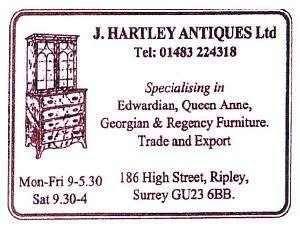 J Hartley Antiques Ltd
