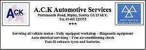 ACK automotive services