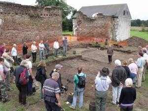 Surrey Heritage 121a Woking Palace excavations tours (2)