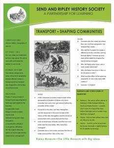 4. Transport -shaping communities