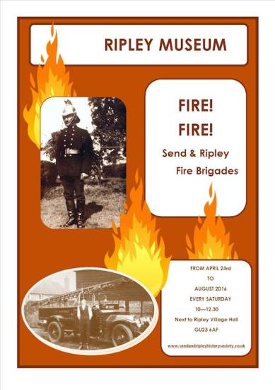 Fire! Fire! Send and Ripley Fire Brigades