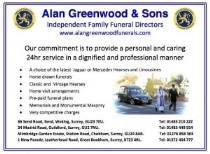 Truly independent family funeral directors