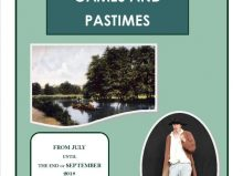 GAMES AND PASTIMES features local memories, photos and artefacts from before the war