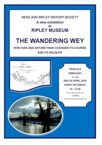 Our latest exhibition is entitled THE WANDERING WEY.