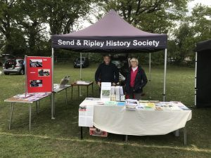 History Society stand on May Fair